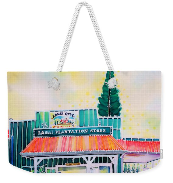 Lanai City Weekender Tote Bag