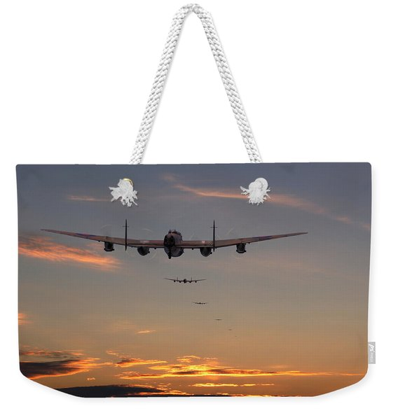 Lancaster - At The Going Down Of The Sun... Weekender Tote Bag