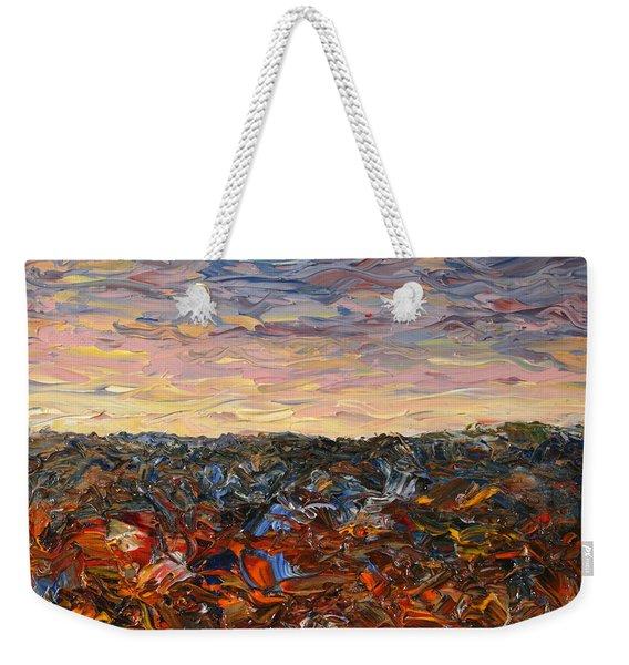 Land And Sky 2 Weekender Tote Bag
