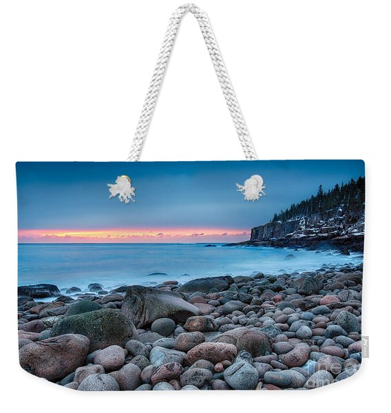 Land Of Sunrise Weekender Tote Bag