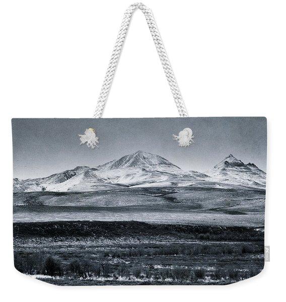 Land Shapes 7 Weekender Tote Bag