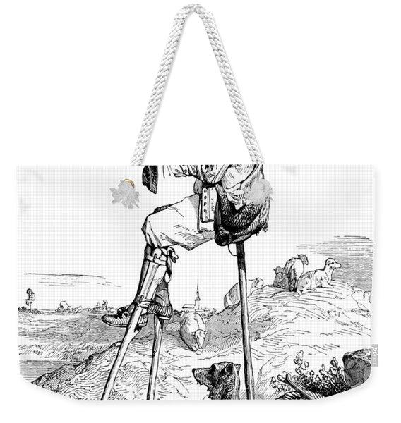 Landes Shepherd, Childrens Fairy Weekender Tote Bag
