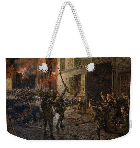 Landrecies, 25th August 1914, 1915 Weekender Tote Bag