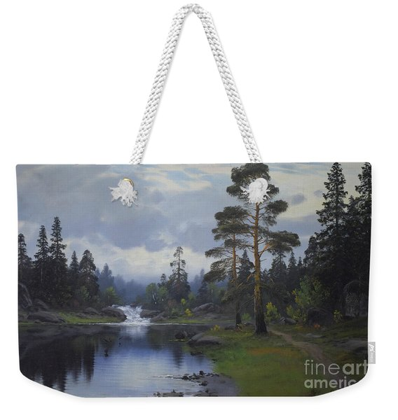 Landscape From Norway Weekender Tote Bag