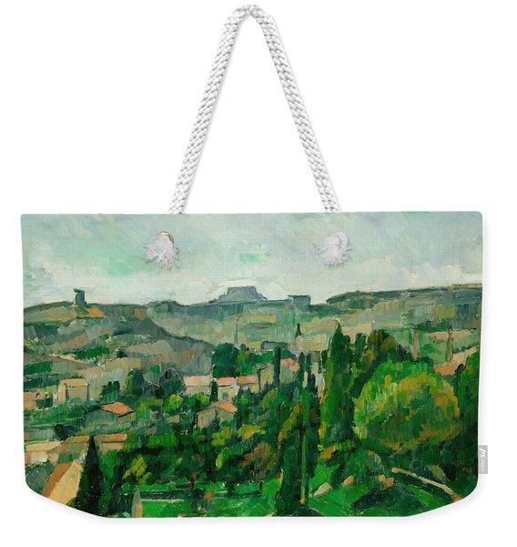 Landscape In The Ile-de-france Weekender Tote Bag
