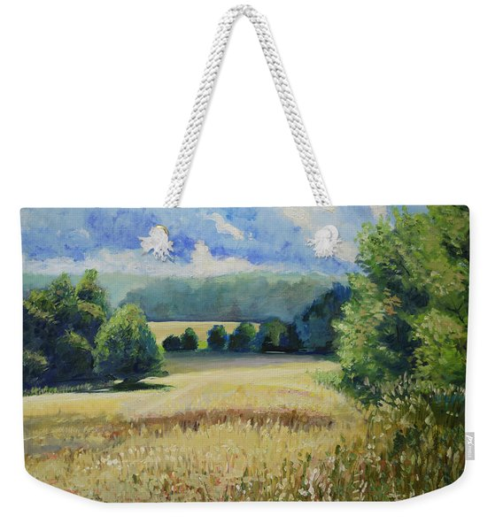 Landscape Near Russian Border Weekender Tote Bag