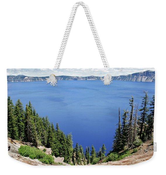 Landscape Of Crater Lake, Crater Lake Weekender Tote Bag