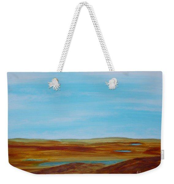Landscape Serenity Weekender Tote Bag