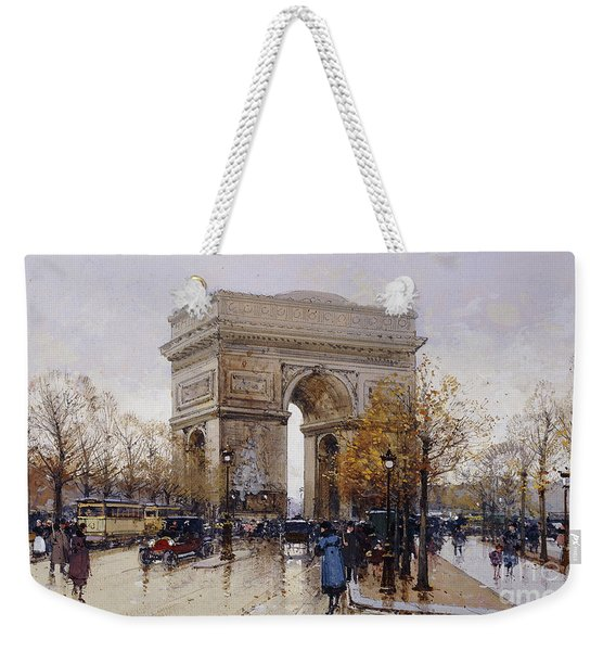 L'arc De Triomphe Paris Weekender Tote Bag
