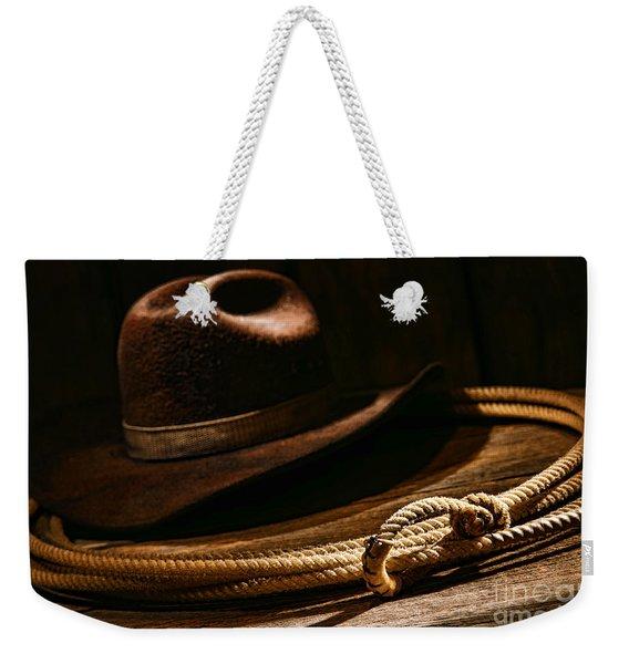 Lariat And Hat Weekender Tote Bag