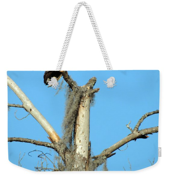 Larry Buzzard Vulture Weekender Tote Bag