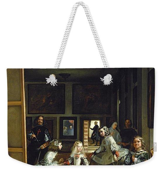 Las Meninas Or The Family Of Philip Iv, C.1656  Weekender Tote Bag