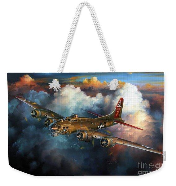 Last Flight For Nine-o-nine Weekender Tote Bag