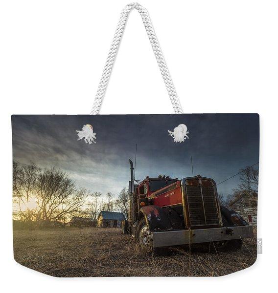 Last Haul Weekender Tote Bag