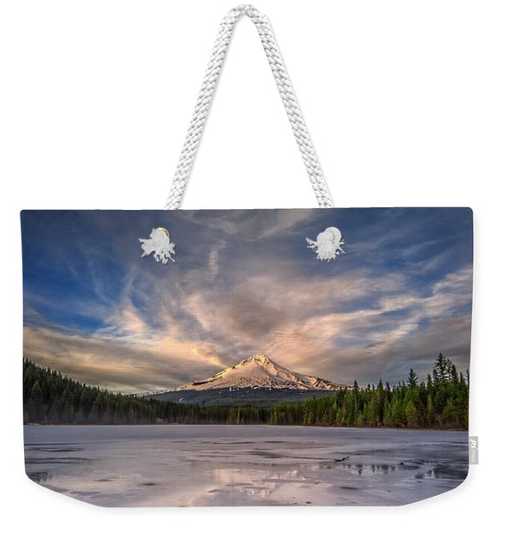Last Light In The Pacific Northwest Weekender Tote Bag