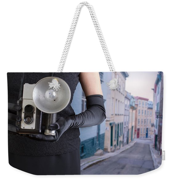Last Thing I Remember Was A Blinding Light Weekender Tote Bag