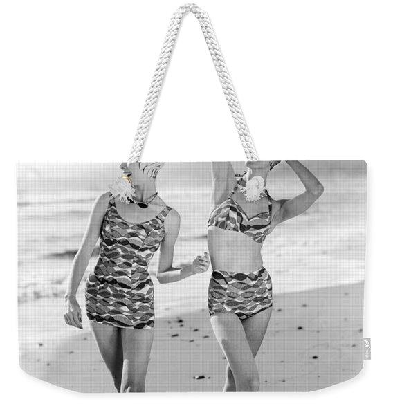 Latest Bathing Suit Fashion Weekender Tote Bag