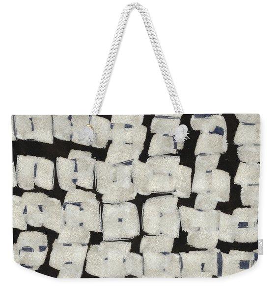 Laura Series Making Marks 545d1 Weekender Tote Bag