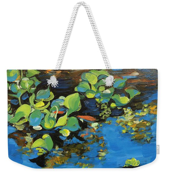 Laura's Pond I Weekender Tote Bag