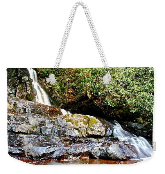 Laurel Falls Tennessee Weekender Tote Bag