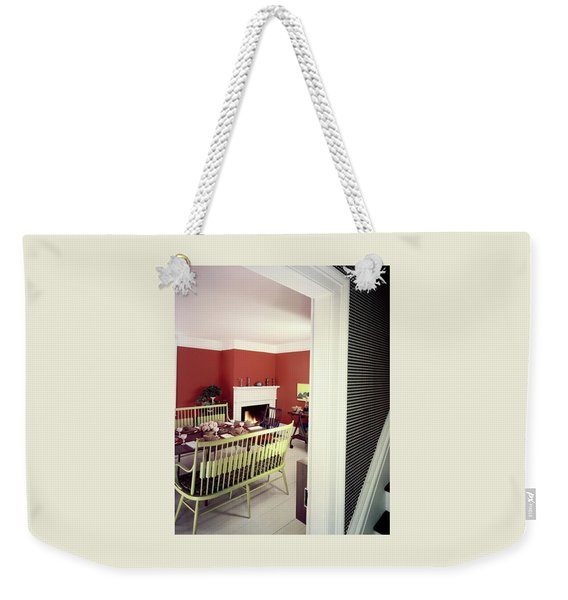 Laurens W. Macfarland's Dining Room Weekender Tote Bag