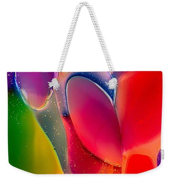 Lava Lamp Weekender Tote Bag