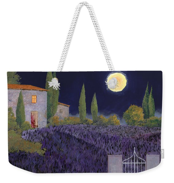 Lavanda Di Notte Weekender Tote Bag