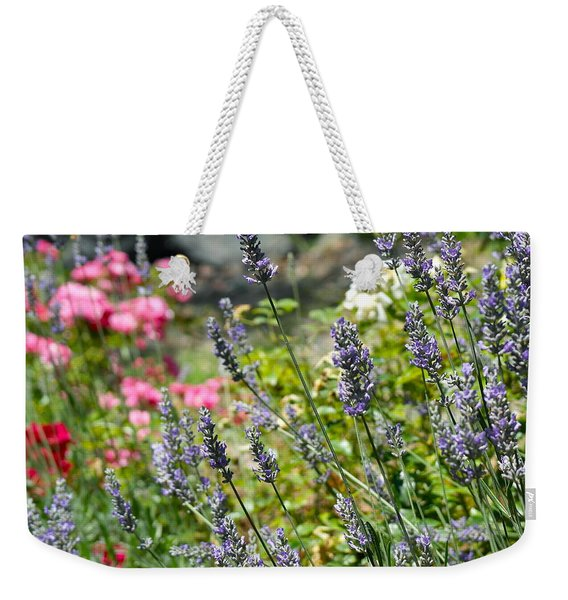 Lavender In Bloom Weekender Tote Bag