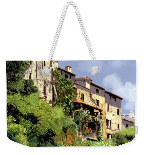 Le Case Sulla Rupe Weekender Tote Bag