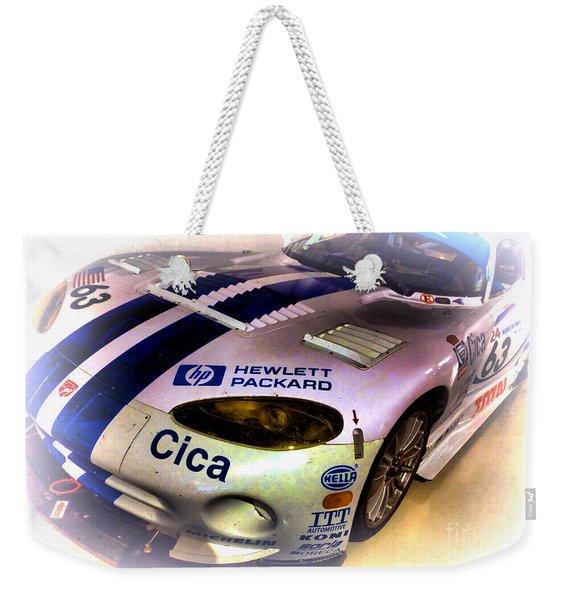Le Mans 1997 Chrysler Viper Gts  Weekender Tote Bag
