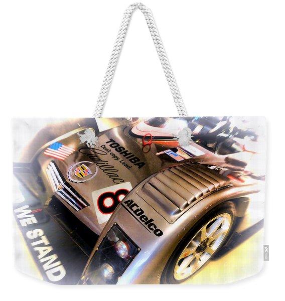 Le Mans 2001 Cadillac Northstar Lmp 900 Weekender Tote Bag