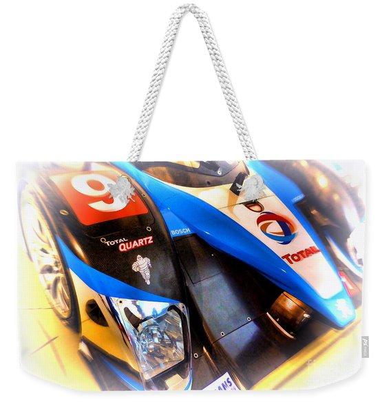 Le Mans 2003 Peugeot Courage Pescarolo C60 Weekender Tote Bag
