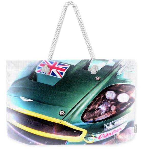Le Mans 2005 Aston Martin Drb 9 Gt Weekender Tote Bag