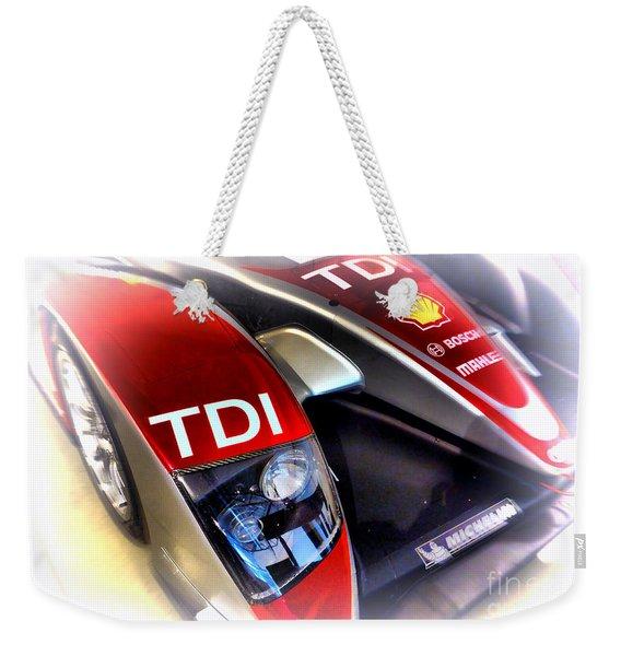 Le Mans 2008 Audi R10 Tdi Weekender Tote Bag