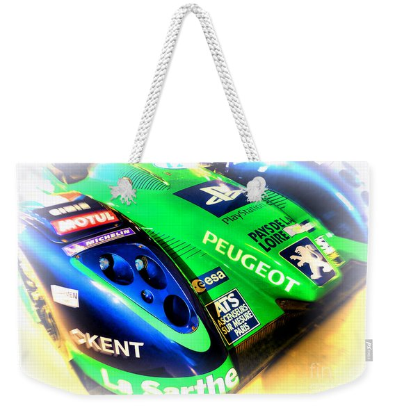 Le Mans 2009 Peugeot 908 Hdi Fap Weekender Tote Bag