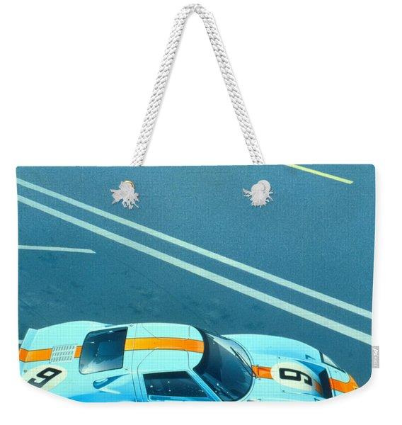 Le Mans 68 Weekender Tote Bag