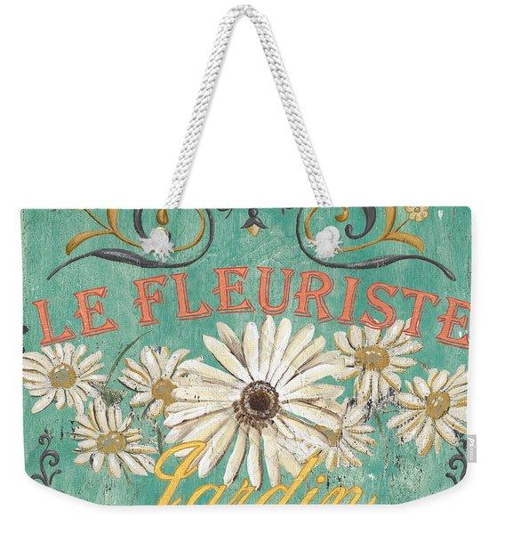 Le Marche Aux Fleurs 6 Weekender Tote Bag
