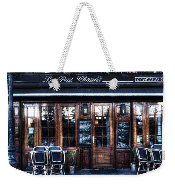 Le Petit Chatelet Paris France Weekender Tote Bag