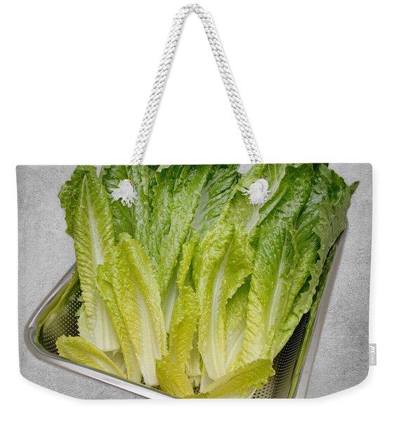 Leaf Lettuce Weekender Tote Bag