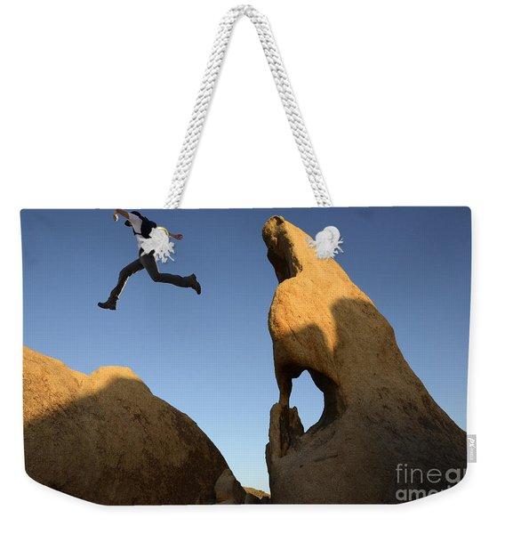 Leap Of Faith Weekender Tote Bag