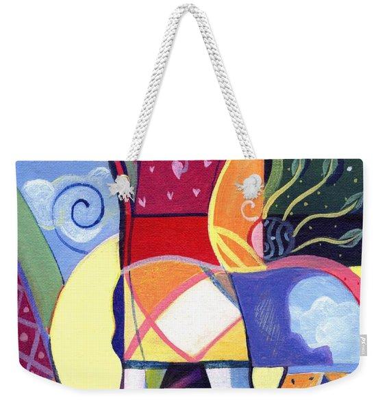 Leaping And Bouncing Weekender Tote Bag