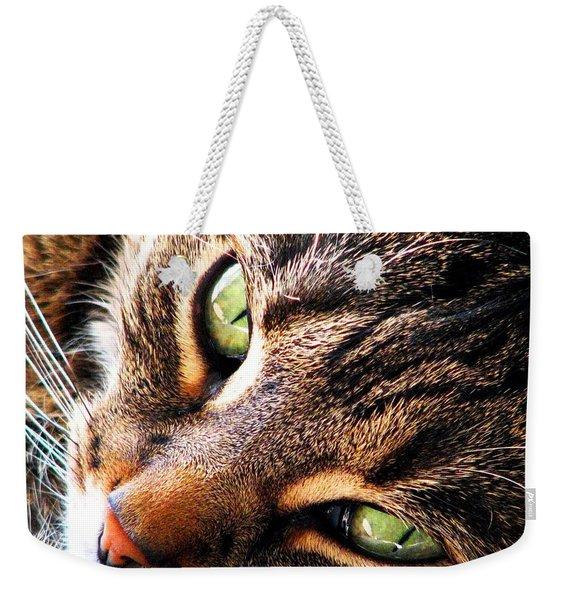 Learn To Linger Weekender Tote Bag