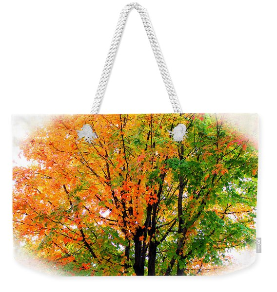 Leaves Changing Colors Weekender Tote Bag