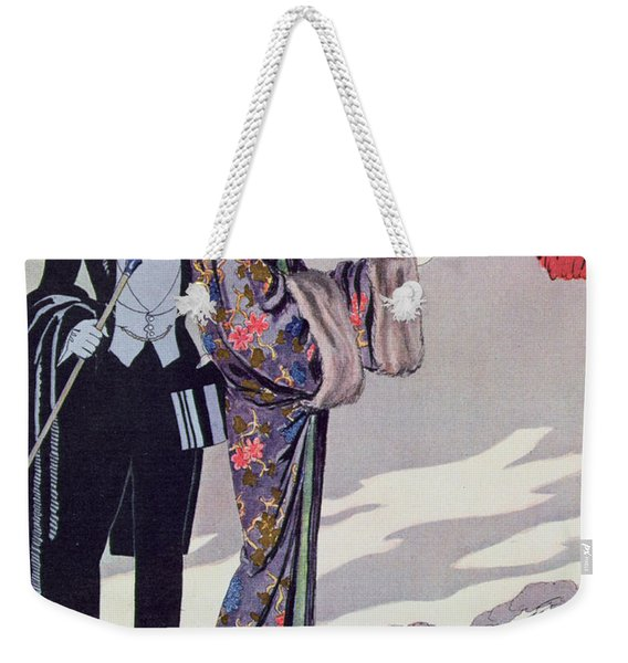 Leaving For The Casino Weekender Tote Bag