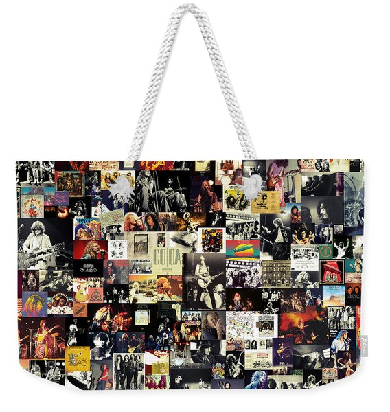 Led Zeppelin Collage Weekender Tote Bag