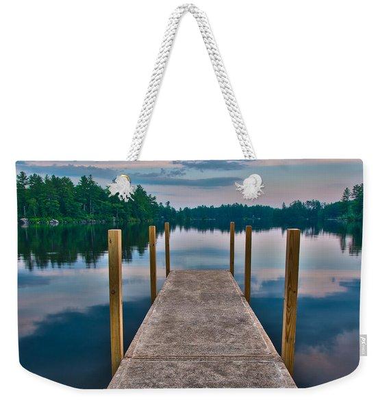 Lees Mills Dock Weekender Tote Bag