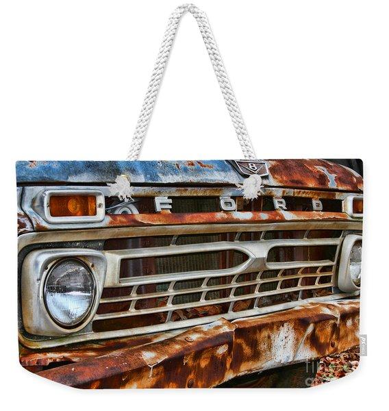 Left To Rust By Diana Sainz Weekender Tote Bag