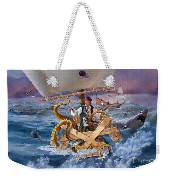 Legendary Pirate Weekender Tote Bag