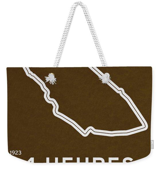 Legendary Races - 1923 24 Heures Du Mans Weekender Tote Bag