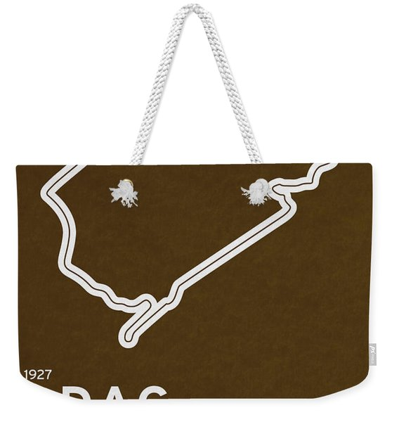 Legendary Races - 1927 Eifelrennen Weekender Tote Bag